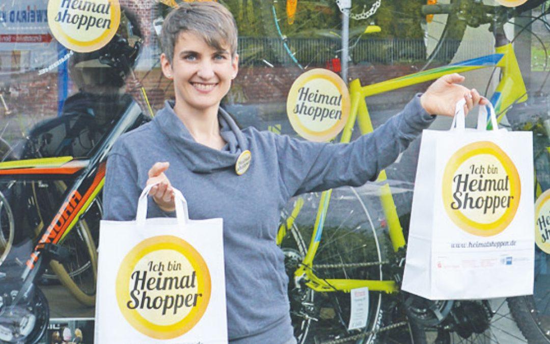 """Aktion """"Heimat shoppen"""": Botschaft soll das Jahr über verbreitet werden"""