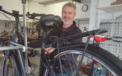 Fahrrad Kliem bietet einen Hol- und Bringservice